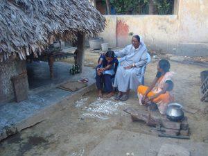 Andhra Pradesh outdoor cooking